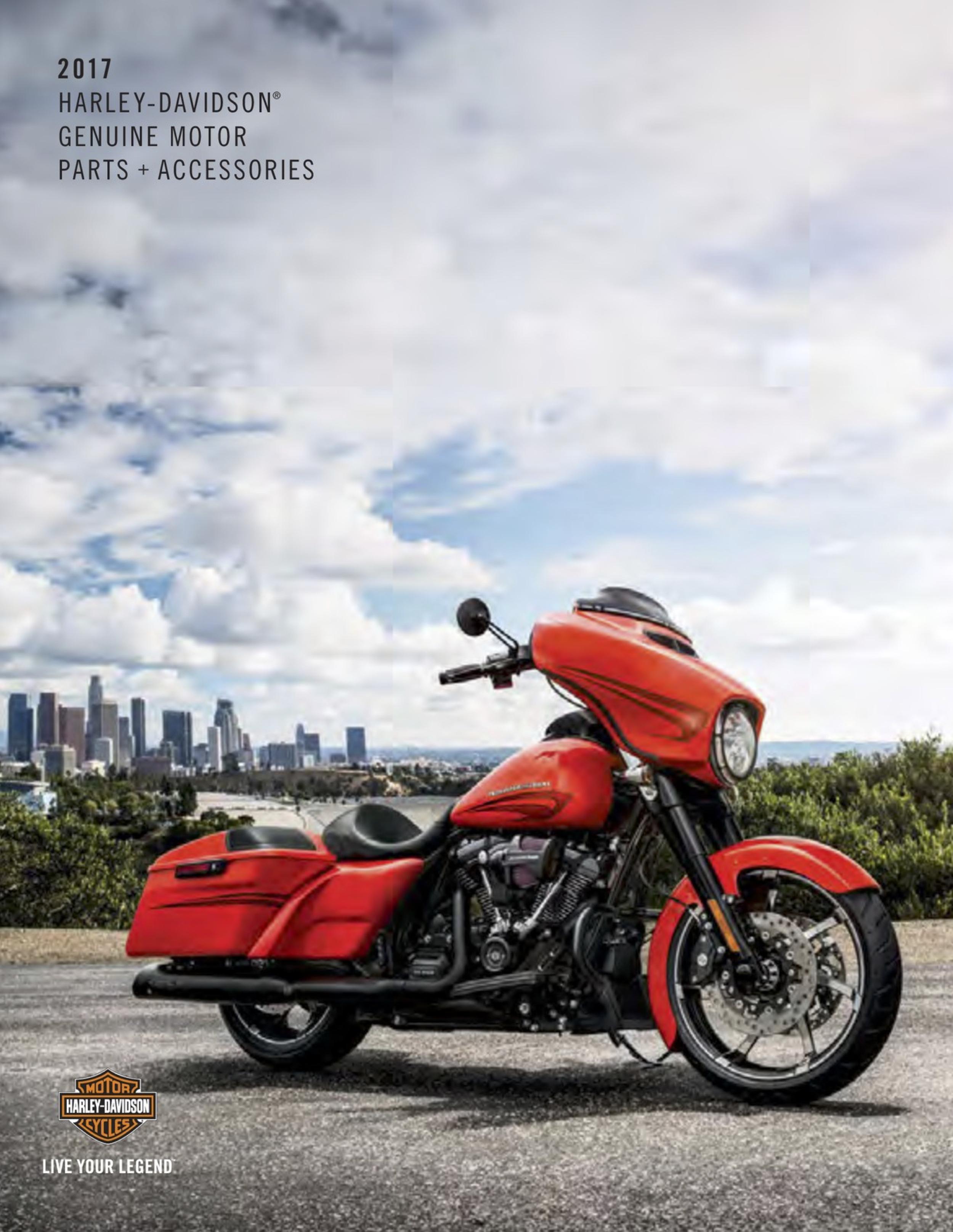 Harley-Davidson Catalog 2017